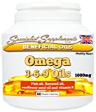 Omega 3-6-9: the good oils (60 gel caps)