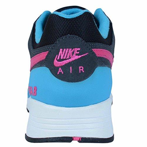 Mens Air Max Uptempo Fuse 360 â??â??Pattini di pallacanestro 555006 BLACK/HOT PINK-ANTHRCT-BL LGN