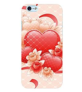 Citydreamz Red Heart/Love/Valentine/Glitters Hard Polycarbonate Designer Back Case Cover For Apple Iphone 6 Plus/6S Plus