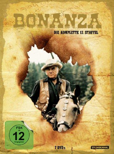 Bonanza - Die komplette 13. Staffel [7 DVDs] Preisvergleich