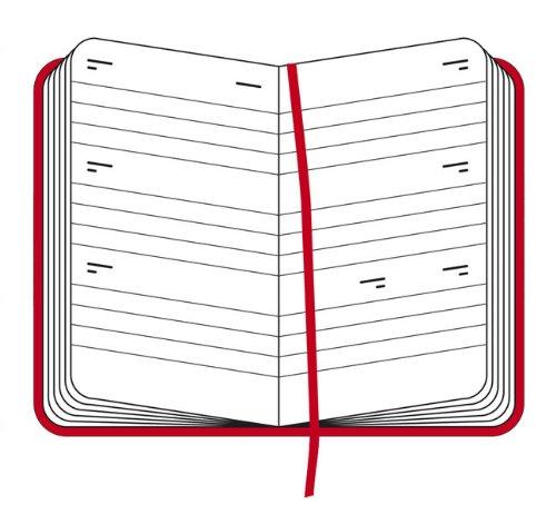 Moleskine 2011 18 Month Weekly Planner Horizontal: Red Hard Cover Pocket (Moleskine...