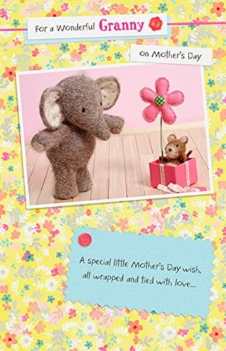 Elliot & Buttons Granny Mother's Day Card Cute Range Greeting Cards | Qualité Fiable