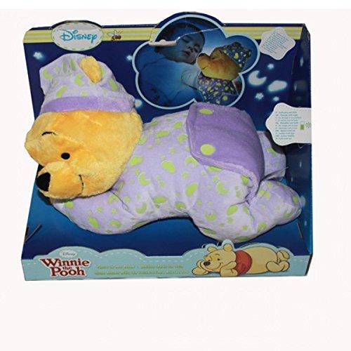 Simba 5871568 Disney Winnie Pooh Kuscheltier Gute Nacht Bär 30cm leuchtet im Dunkeln -
