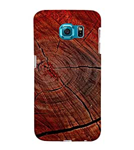 printtech Wood Block Design Back Case Cover for Samsung Galaxy S6::Samsung Galaxy S6 G920