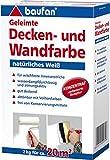 Baufan 004302008 Geleimte Decken und Wandfarbe