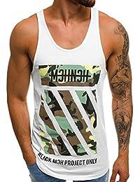 dd792a3b99cb OZONEE Mix Herren Tanktop Tank Top Tankshirt T-Shirt Unterhemden Ärmellos  Muskelshirt Sport B
