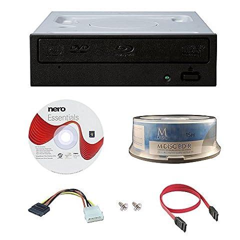 Pioneer BDR-209DBK 16x Blu-Ray CD DVD Internal Drive 3D-Wiedergabe mit