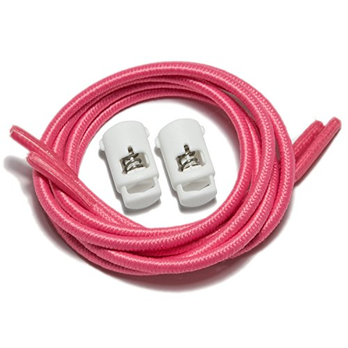 IBungee speedlaces lacets élastiques Rose (Pink)