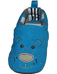 Sterntaler Zapatos de bebé, Krabbelschuh, Oso azul