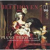 Klaviertrios Op. 70 1 & 2 / Variationen Op. 121 a