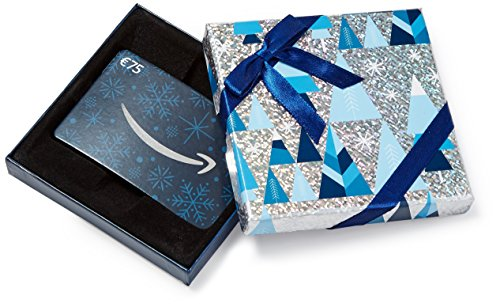 Buono Regalo Amazon.it - € 75 (Cofanetto blu e argento)
