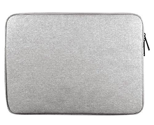 """Housse pour Ordinateur Portable Sacoche pour ordinateur portable Sac à main pour 11.6-15.6"""" 15.6"""" Gris"""