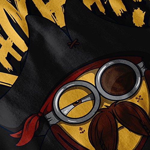 Kampa Günstling Pirat emoji Damen Schwarz S-2XL Muskelshirt | Wellcoda Schwarz