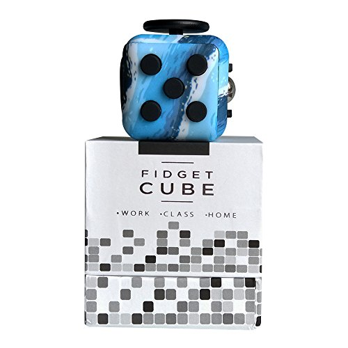 Highline Fidget Cube Fidget Toy for ADD and Stress Relief Fidget Sensory Gadget for Adults and Children (Ocean) - 4
