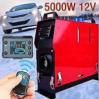 Coseyil Calentador de Ventilador de 12V 5000W Calentador de Aire Diesel Calentador de estacionamiento Diesel para