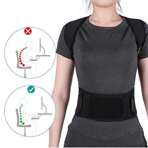 Zoom IMG-3 semme cintura correttore postura posteriore