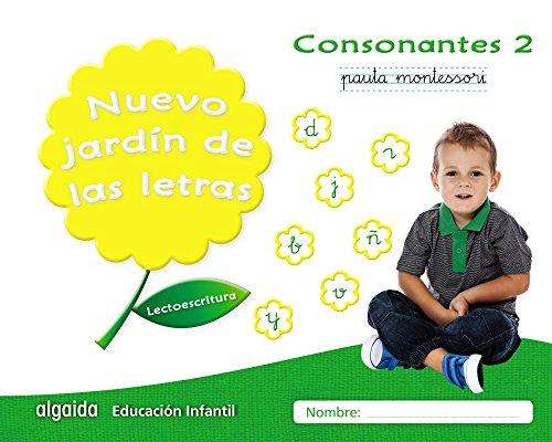 Nuevo jardín de las letras consonantes 2 pauta: lectoescritura pauta (educación infantil algaida lectoescritura) - 9