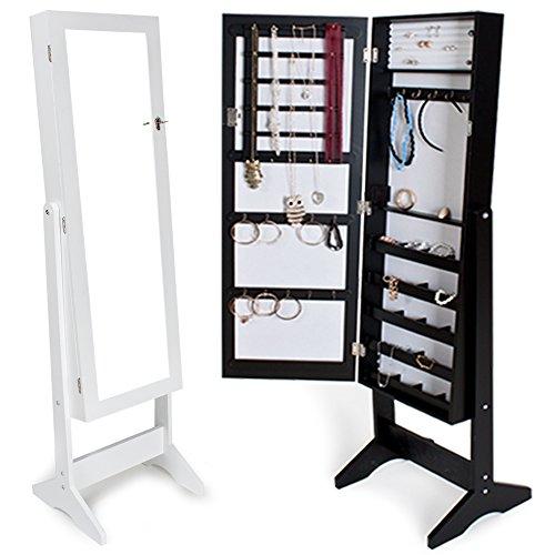 TecTake-Espejo-joyero-espejo-guarda-joyas-organizador-espejo-de-pie-pendientes-disponible-en-diferentes-colores