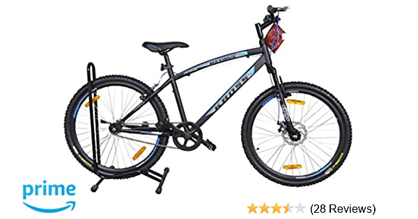 d0cc5c5911458 Buy Kross Maximus 26T Single Speed 402477 Mountain Cycle (Black) Online at Low  Prices in India - Amazon.in