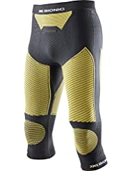 X-Bionic Biancheria intima Uomo da sci Touring _ Evo UW Pants Medium, Uomo, X-BIONIC SKI TOURING_EVO MAN UW PANTS MEDIUM, Black/Yellow Sunshine, L/XL