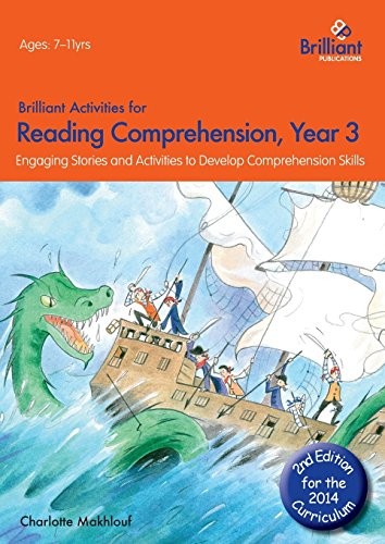 Brilliant Activities for Reading Comprehension, Year 3 (2nd Edition) by Charlotte Makhlouf (22-Apr-2014) Paperback