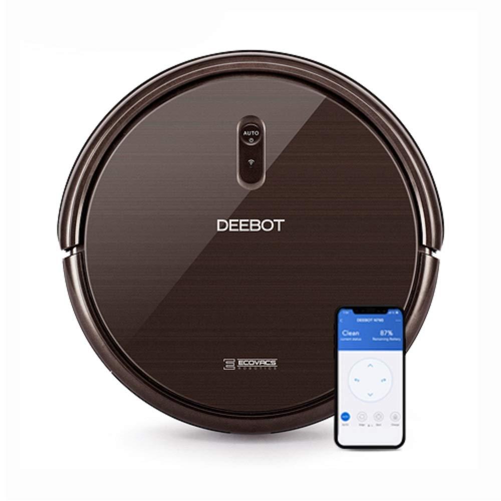 Ecovacs Deebot N79S Saugroboter mit Klopfbürste, App- / Alexa-Steuerung, schwarz
