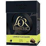 L'OR Espresso Lungo Elegante x10 Envoi Rapide Et Soignée ( Prix Par Unité )