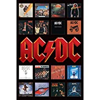 "Pyramid International ""Album Covers AC/DC Maxi Poster, Multi-Colour, 61 x 91.5 x 1.3 cm preiswert"