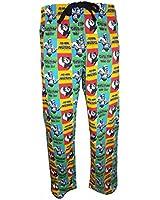 Official He-Man Adam Cartoon Pop Art Lounge Pants - Pyjama Bottoms