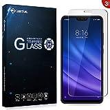 RIFFUE Panzerglas für Xiaomi Mi 8 Lite, Xiaomi Mi8 Lite Schutzfolie, 9H Gehärtete HD Bildschirmschutzfolie Screen Protector Tempered Glass Folie 6.26