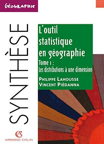 L'outil statistique en géographie