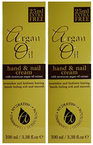 Dr Alex's #Trusted ARGAN OIL Hand & Nail Cream - TWO PACKS