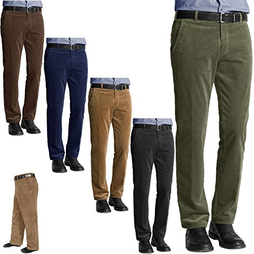 New Mens Corduroy Cord Trousers Cotton Formal Office Smart Belted Casual Big Plus Size Pocket Dress Pants Straight Leg Bottoms Waist 27