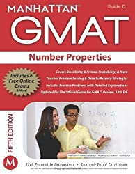 Number Properties GMAT Strategy Guide (Manhattan GMAT Instructional Guide 5) by Manhattan GMAT, - (2012) Paperback