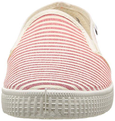 Victoria Slip On Rayas Lona, Baskets mode mixte adulte Orange (45 Coral)