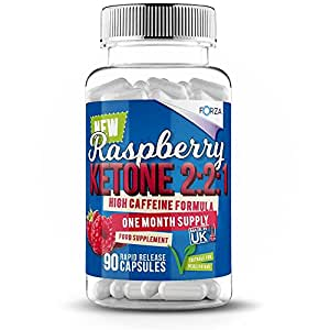 Forza Raspberry Ketone 2:2:1 Weight Loss Diet Supplements - 90 Capsules