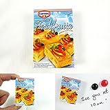 AlboTrade miniatura magnete del frigorifero Cameo Torta Fiordifrutta (Marca italiana) B7127