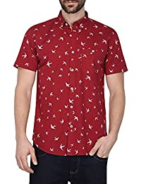 VETTORIO FRATINI By Shoppers Stop Mens Printed Shirt
