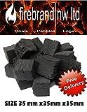 15 carbón O peque � o rejilla para fuego de Gas exactos que brillan en la oscuridad para chimenea de Gas/combustibles Bio/cerámica/en caja