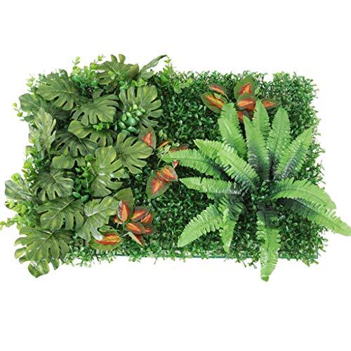 B Blesiya Césped Planta de Plástico Artificiales Hierbas de Simulación para Decoración de Paisaje - Verde B