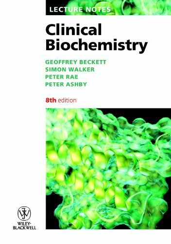 Free Lecture Notes Clinical Biochemistry By Geoffrey Beckett 2010