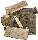 30kg Brennholz Kaminholz 100% Buchenholz Feuerholz 25cm + 20 Stück Anzünder – kammergetrocknet, ofenfertig und einsatzbereit - 4