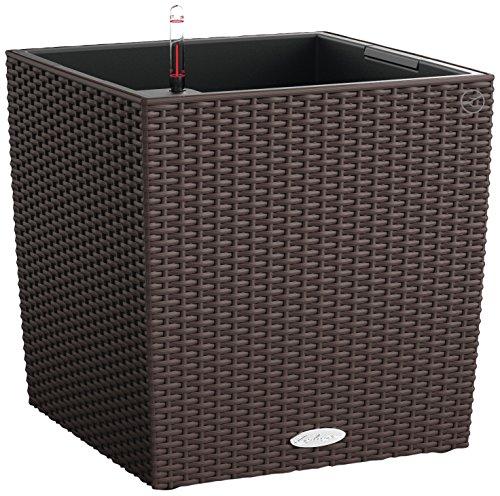 Chouette 15395 – Pot cube cottage 50 Kit complet, Moca (50 x 50 x 50)