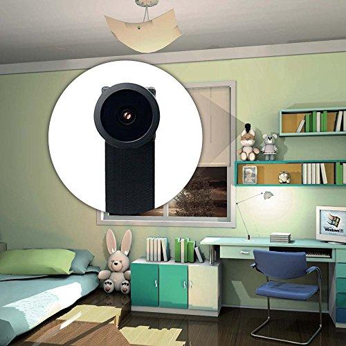 WIFI Mini Spy Cam Telecamera Nascosta Microcamere Spia Hidden Camera TANGMI 1080P HD Wireless Motion Detection DIY Videocamera 7/24 Ore di Lavoro Android iPhone IOS 140°Angolo di Vista Ampio - 4