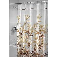 Semplice Bianco, 150x180 cm Tessuto Resistente alla Muffa e allAcqua UFLYAY Tenda Doccia