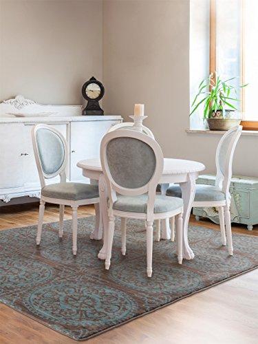 design : wohnzimmer in braun und türkis ~ inspirierende bilder von ...