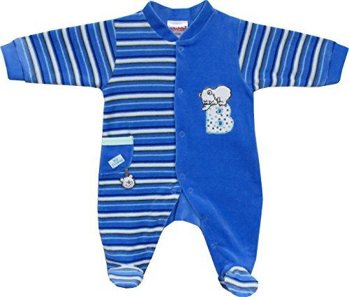 Schnizler Nicki Schlafanzug Eisbär - Haut de pyjama - Mixte Bleu (Original 900)