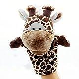 Labellevie Burattino di Mano Peluche Mini Doll Pegalo per Bambini Giraffa