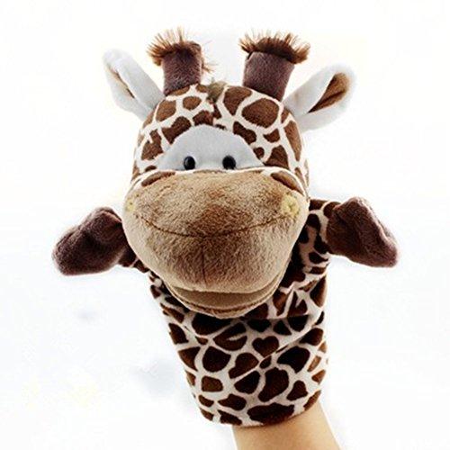 Labellevie Handpuppen Mini Plüsch Puppe Spielzeug Tierspiele Baby Giraffe
