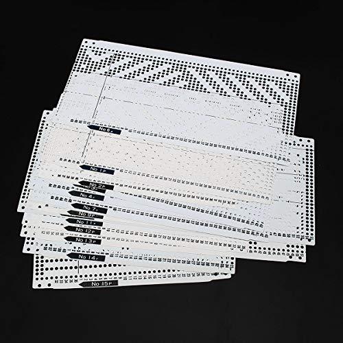 Pre Lochkarte Kit Für KH260 Stricknadel Arbeitsmaschine Bruder ()